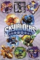 Skylanders Core - Grid Wall Poster