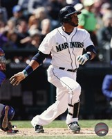 Robinson Cano Running For Plate Fine Art Print