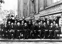 1927 Solvay Conference on Quantum Mechanics Fine Art Print