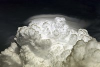 Cumulus Congestus cloud with Pileus Fine Art Print