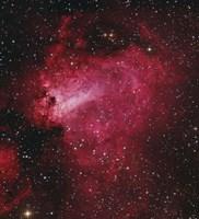 Messier 17, The Swan Nebula in Sagittarius Fine Art Print