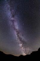 The summer Milky Way in southern Alberta, Canada Fine Art Print