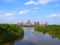 Skyline of Richmond, VA Fine Art Print