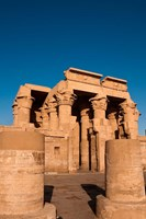Egypt, Kom Ombo, Temple of Kom Ombo Fine Art Print