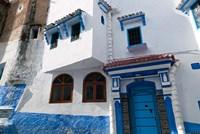Chefchaouen, Tangeri-Tetouan, Rif Mountains, Morocco Fine Art Print