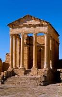 Ancient Architecture, Sufetul, Sbeitla, Tunisia Fine Art Print