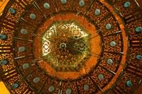 Chandelier, Mosque, Abu-Al-Abbas Mursi, Egypt Fine Art Print