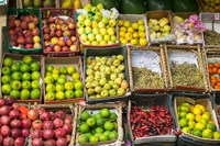 Fruit for sale in the Market Place, Luxor, Egypt Fine Art Print