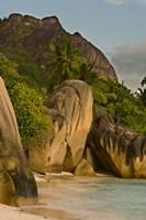 Anse-Source D'Argent Beach, Seychelles, Africa Fine Art Print