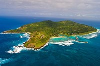 Fregate Island in the Indian Ocean, Seychelles Fine Art Print