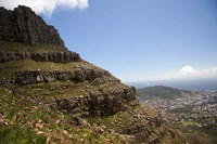 Cape Town, South Africa. Hiking up to Table Mountain. Fine Art Print