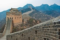 China, Hebei, Luanping, Chengde. Great Wall of China Fine Art Print