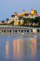 El Salamiek Palace Hotel and Casino, Alexandria, Egypt Fine Art Print
