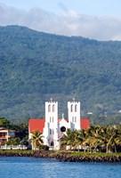 Catholic Church, Apia, Upolo Island, Western Samoa Fine Art Print
