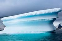 Antarctica, Pleneau Island, Icebergs Fine Art Print