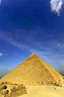 Great Pyramid of Giza, Khufu, Cheops, Cairo, Egypt Fine Art Print