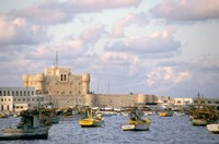 15th Century Castle, Fort Qait Bay, Alexandria, Egypt Fine Art Print