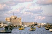 15th Century Castle, Fort Qait Bay, Alexandria, Egypt Fine Art Print