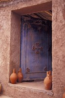 Berber Village Doorway, Morocco Fine Art Print