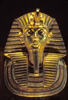 Gold Death Mask, Cairo, Egypt Fine Art Print