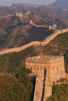Great Wall at Sunset, Jinshanling, China Fine Art Print