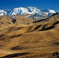 Afghanistan, Bamian Valley, Hindu Kush Mountains Fine Art Print