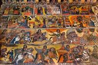 Debre Berhan Selassie church in Gonder, Ethiopia Fine Art Print
