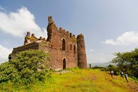 Guzara Castle between Gonder and Lake Tana, Ethiopia Fine Art Print