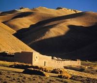 Afghanistan, Bamian Valley, Caravansary, Hindu Kush Fine Art Print
