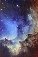 NGC 7380 Emission Nebula in Cepheus Fine Art Print