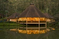 Madagascar, Vakona Forest Lodge, Resort, Mantadia NP Fine Art Print