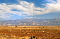 Morocco, Atlas Mountains, landscape Fine Art Print