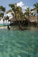 Mauritius, Poste de Flacq. Belle Mare Plage resort Fine Art Print