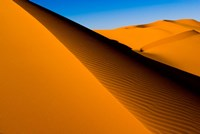 Desert Dunes of the Erg Murzuq, Libya Fine Art Print