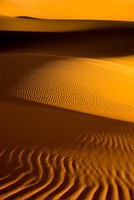 Libya, Fezzan, Desert Dunes of the Erg Murzuq Fine Art Print