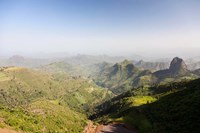Landscape, Gondar, Ethiopia Fine Art Print