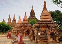 Myanmar (Burma), Bagan (Pagan), Bagan temples Fine Art Print