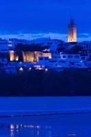 MOROCCO, Rabat: Kasbah des Oudaias, Oued Bou Regreg Fine Art Print