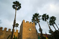 MOROCCO, Souss, Hotel Palais Salam Palace, Ramparts Fine Art Print
