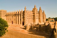 Mosque, Mali, West Africa Fine Art Print