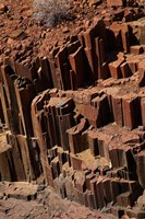 Organ Pipes rock formation, Damaraland, Namibia, Africa. Fine Art Print