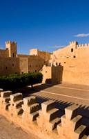 Ribat fort, monastery, Sousse, Monastir, Tunisia Fine Art Print
