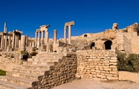 Roman Theater, Ancient Architecture, Dougga, Tunisia Fine Art Print
