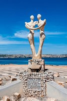 Sculpture for the governor of Benguela, Lobito, Angola Fine Art Print