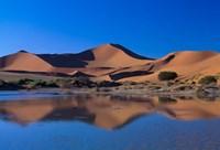 Sossusvlei Dunes Oasis, Namib National Park, Namibia Fine Art Print