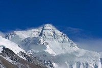Snowy Summit of Mt. Everest, Tibet, China Framed Print
