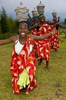 Hutu Tribe Women Dancers, Rwanda Fine Art Print