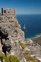 South Africa, Cape Town, Table Mountain, Tram Fine Art Print
