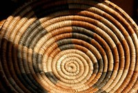 South Africa, KwaZulu Natal, Zulu baskets, market Fine Art Print