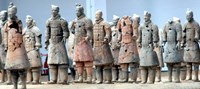 Terra Cotta Warriors and Pits, Xian, Shaanxi, China Fine Art Print